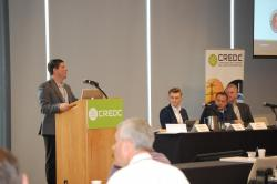 CREDC workshop panel.